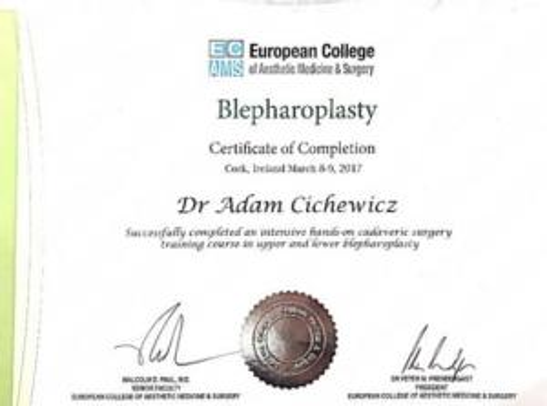 Adam-Cichewicz-Certyfikat 1