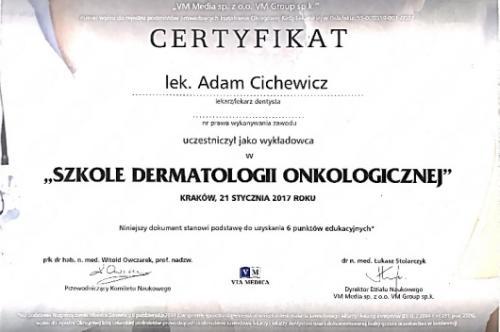 Adam-Cichewicz-Certyfikat 2