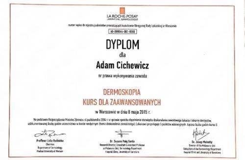 Adam-Cichewicz-Certyfikat 3