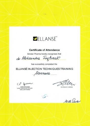 Aleksandra Frątczak certyfikat 14