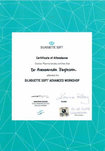 Aleksandra Frątczak certyfikat 16