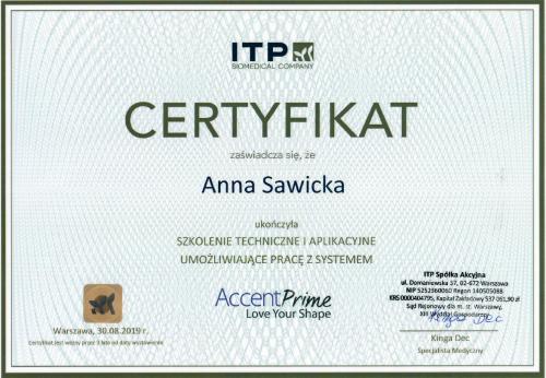 Anna Sawicka Accent Prime