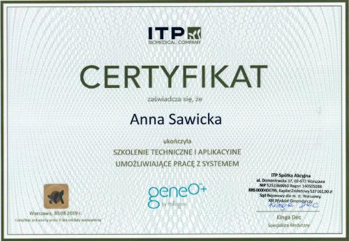 Anna Sawicka Geneo