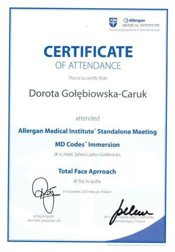 Dorota Caruk Allergan 2
