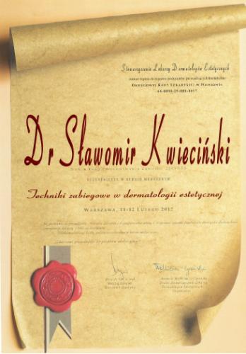 FabDent Sławomir Kwieciński certyfikat 11