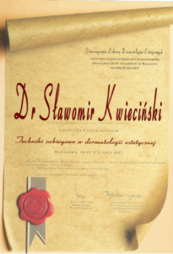 FabDent Sławomir Kwieciński certyfikat 12