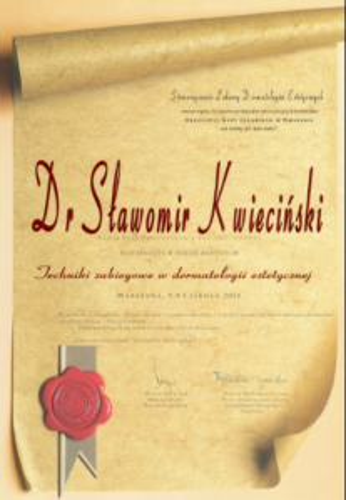 FabDent Sławomir Kwieciński certyfikat 6
