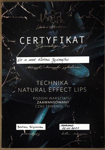 Kalina Jędrzejko certyfikat 11