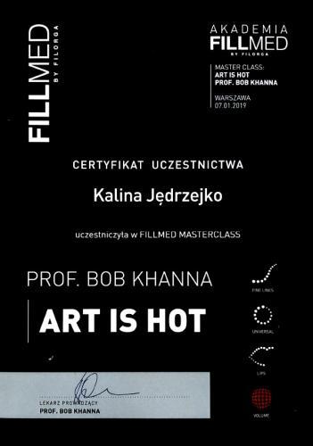Kalina Jedrzejko certyfikat 6