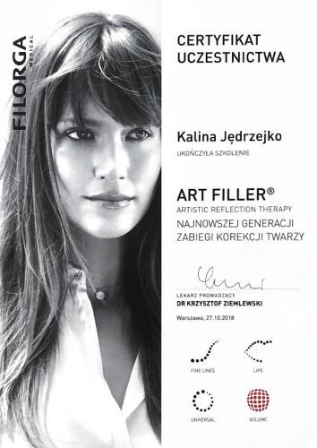 Kalina Jedrzejko certyfikat 7