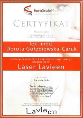 Lavieen Dorota Gołebiowska Caruk
