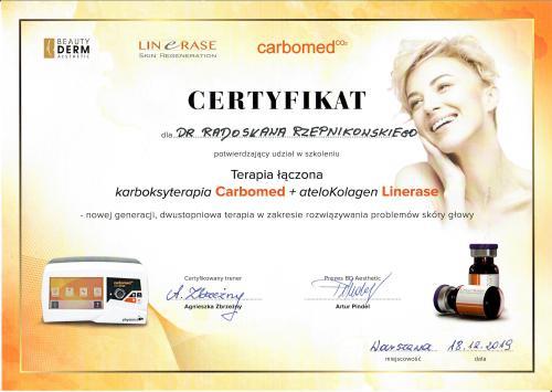 Radoslaw Rzepnikowski certyfikat
