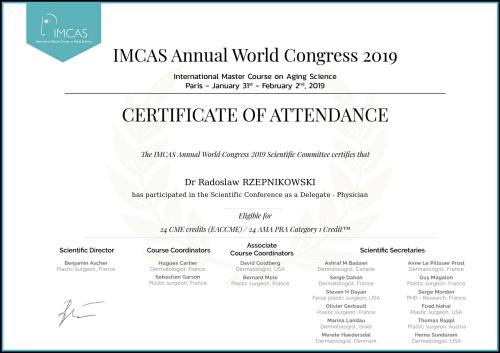 certificate RR-1