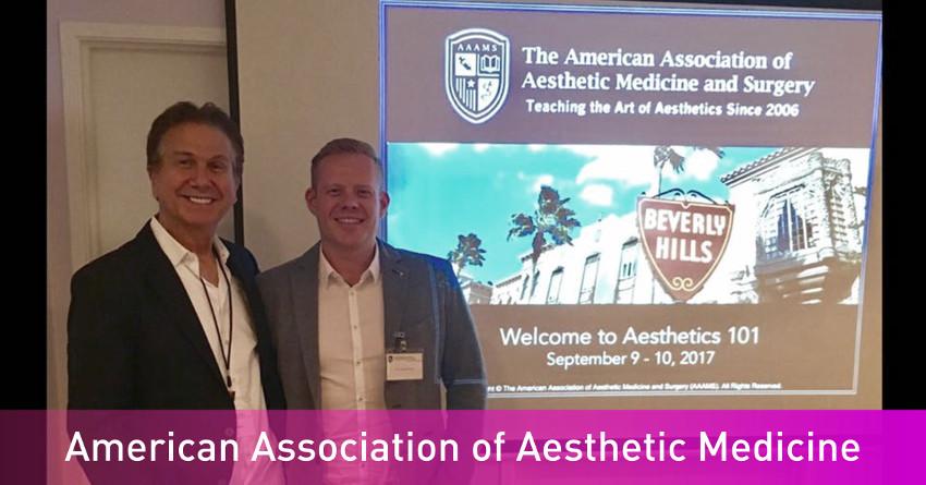 Szkolenie American Association of Aesthetic Medicine and Surgery w Beverly Hills FabSkin Warszawa