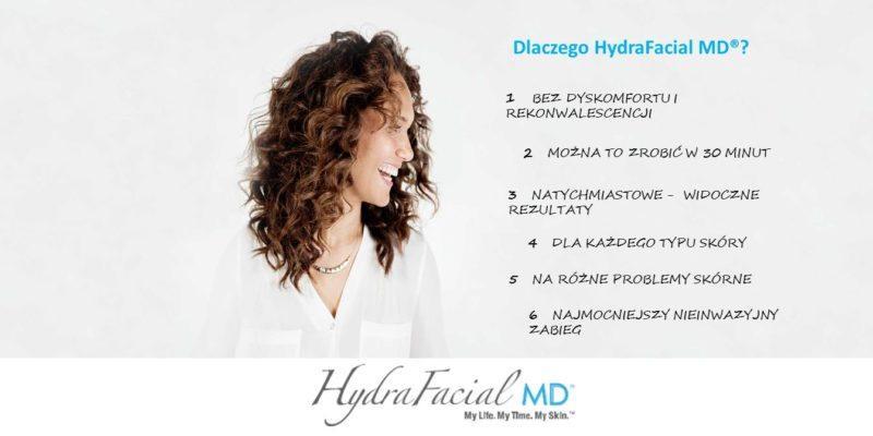 Dlaczego warto wykonać zabieg hydrafacial