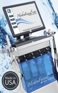 System Hydrafacial do hydradermabrazji