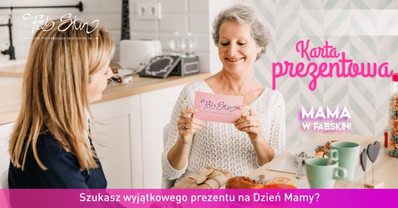 prezent na dzień matki medycyna estetyczna voucher karta podarunkowa warszawa