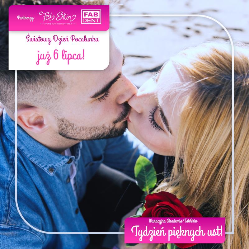 Tydzień Pięknych Ust na Światowy Dzień Pocałunku w FabSkin