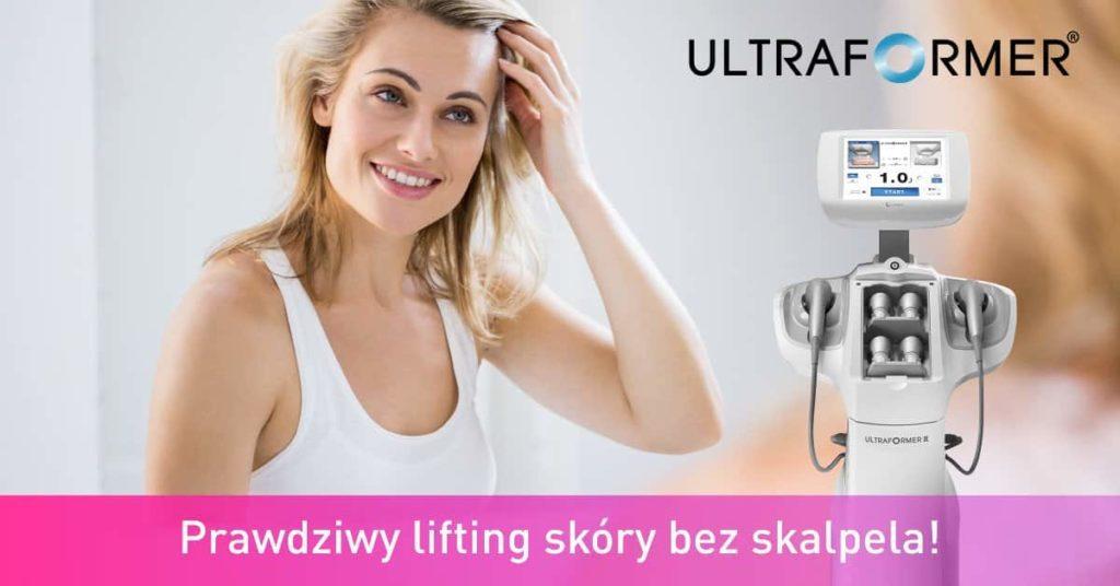 Ultraformer lifting skóry bez skalpela