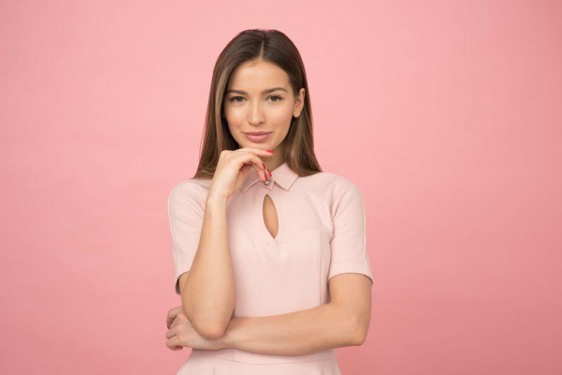 podnoszenie opadających kącików ust