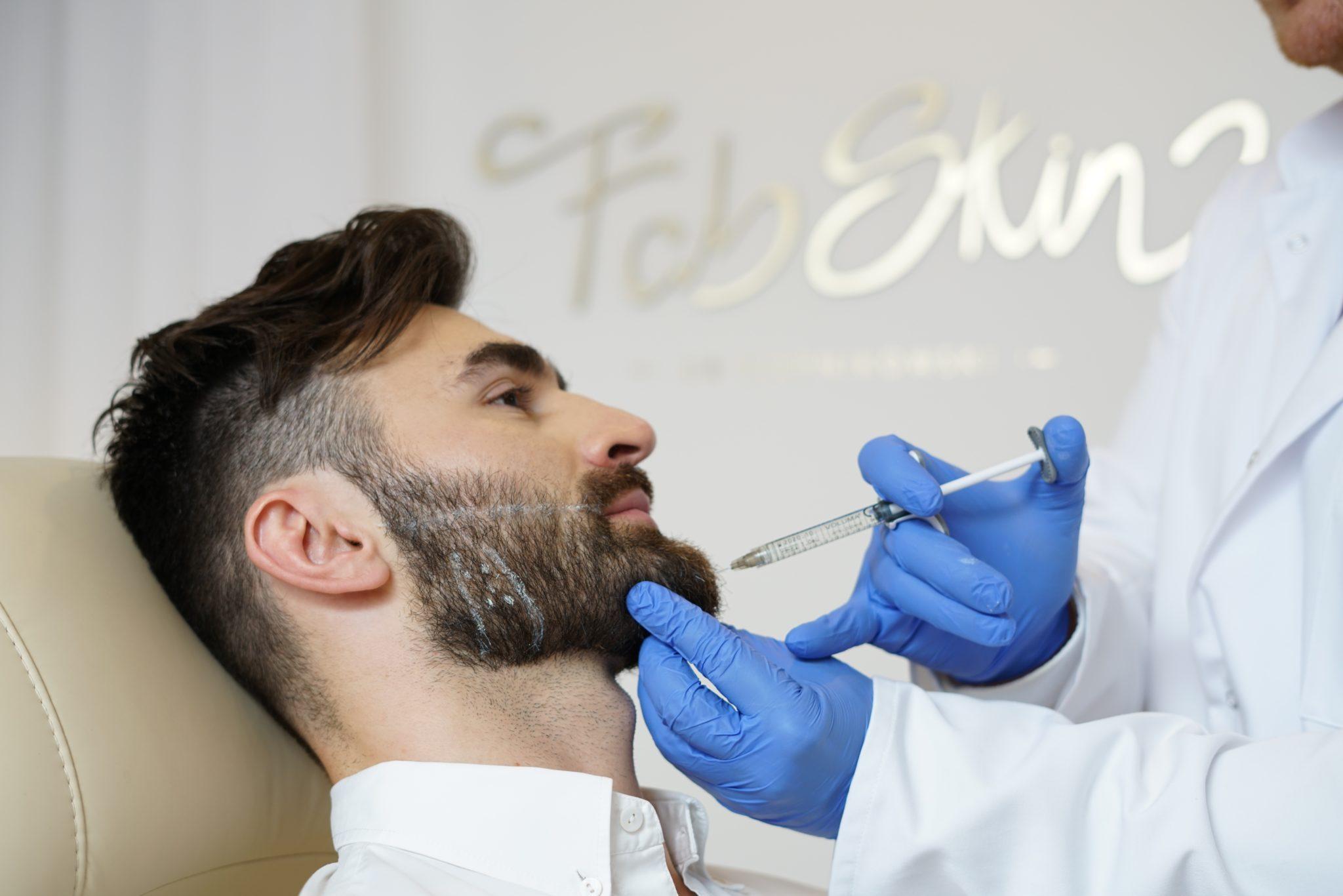 Korekta brody przy użyciu kwasu hialuronowego na Bemowie w Warszawie
