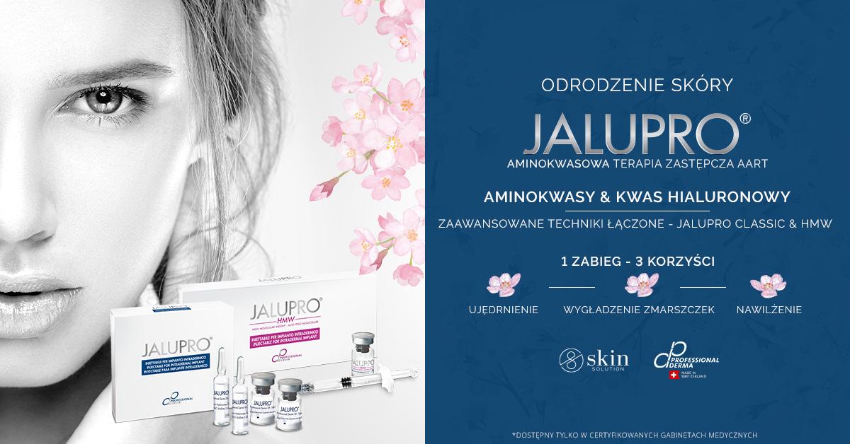 Efekty aminokwasowej terapii zastępczej i biorewitalizacji Jalupro